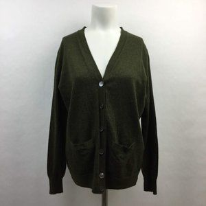 J. Crew Merino Wool Lightweight Cardigan Sweater